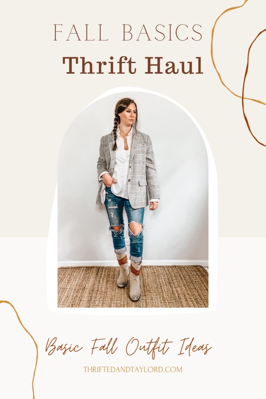 Thrifted Fall Basics | Plus Some Cute Fall Outfit Ideas