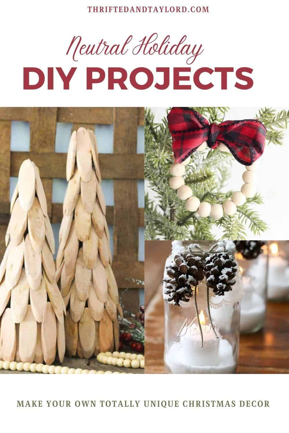 Neutral Holiday DIY Projects To Add To Your To-Do List