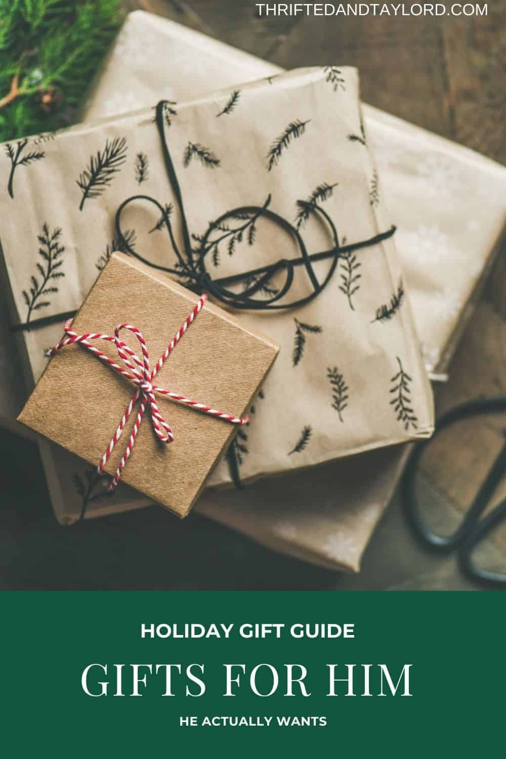 Gifts For Him He Will Actually Use | Holiday Gift Guide