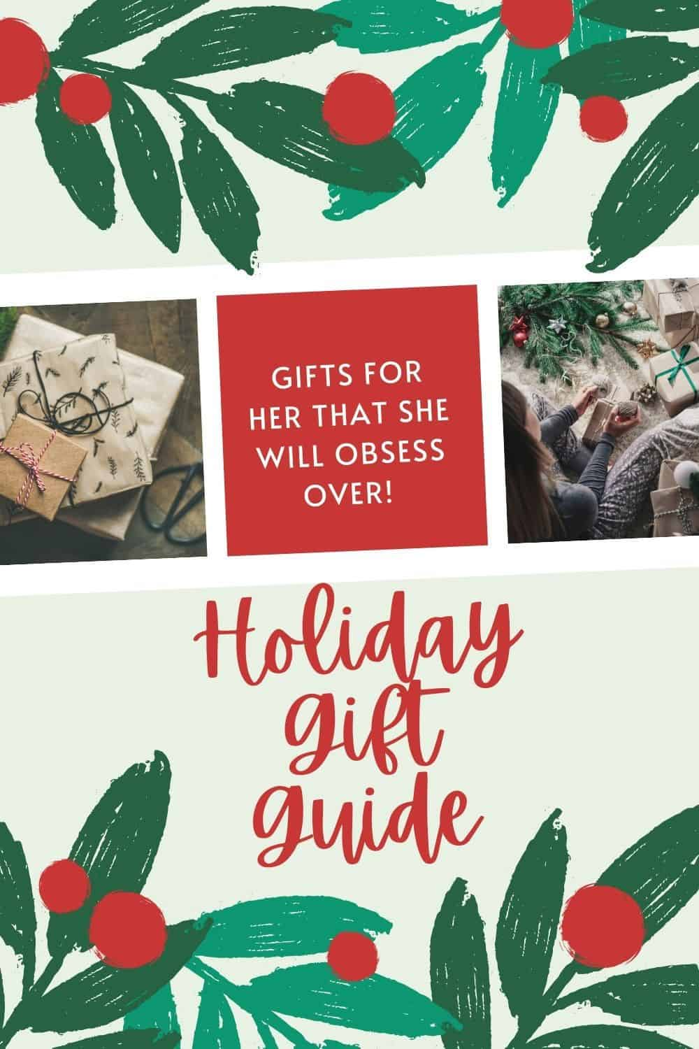 Gifts For Her She Will Obsess Over | Holiday Gift Guide
