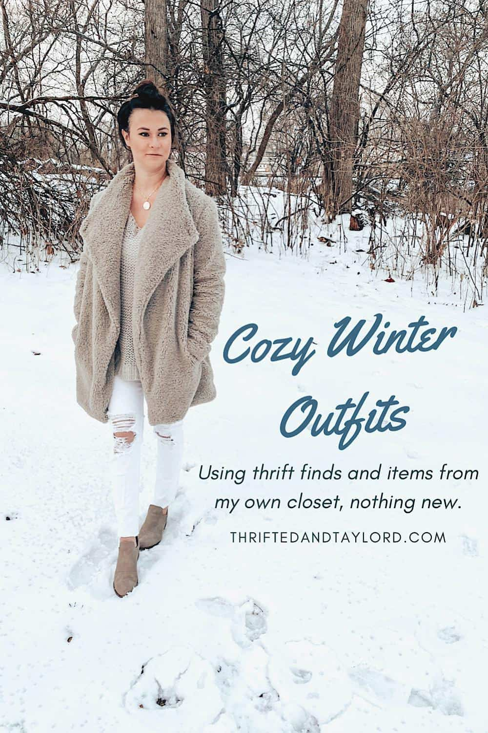 Thrifted Winter Outfits That Are Oh So Cozy and Mega Comfortable