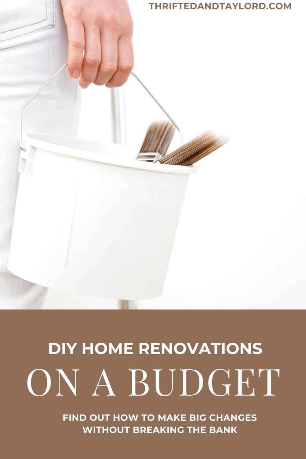 DIY Home Renovations On A Budget | Big Changes You Can Do Yourself